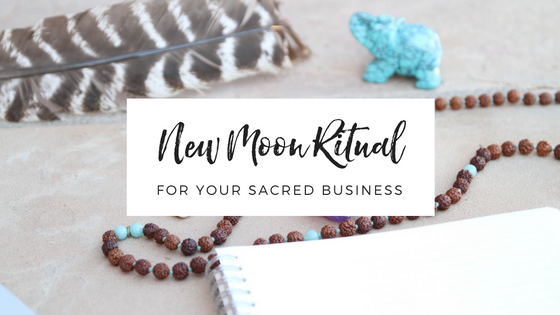 New Moon Ritual for your Business