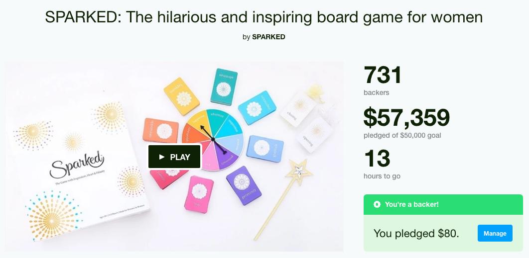 Sparked Kickstarter